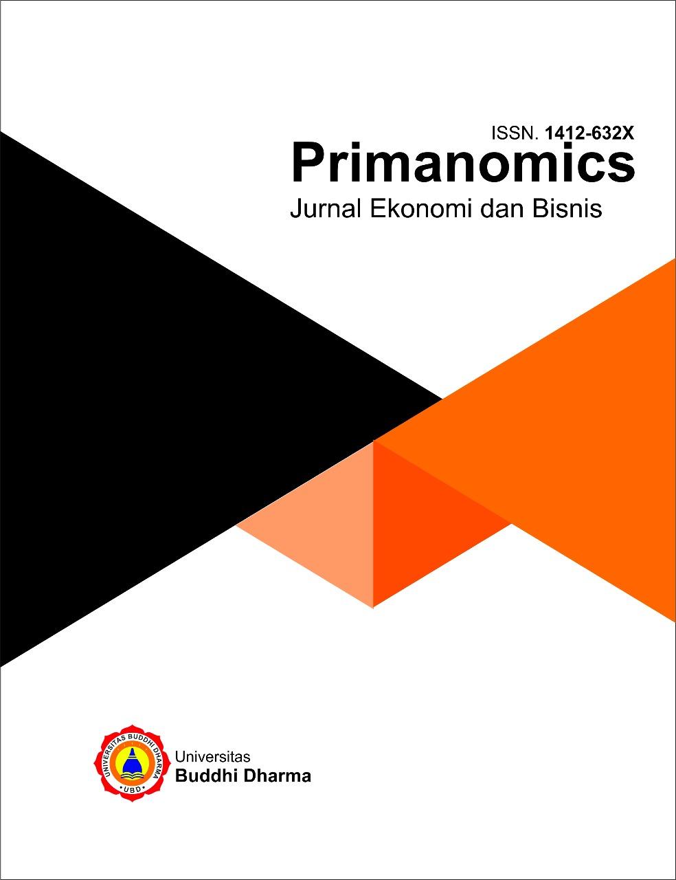 Primanomics : Jurnal Ekonomi & Bisnis